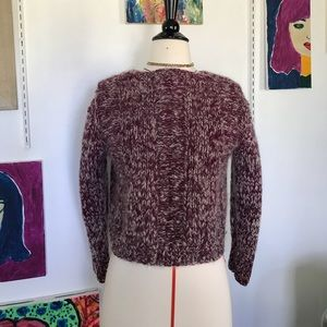 Handmade wool sweater !